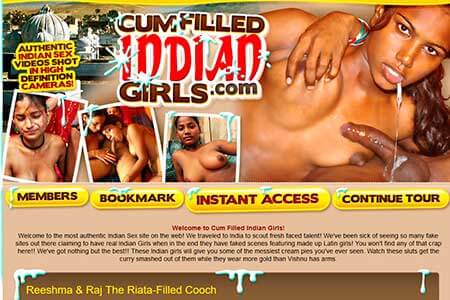 cumfilled indian girls